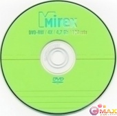 Диск DVD-RW Mirex 4.7 Gb, 4x, Slim Case (1)