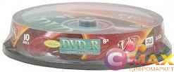 Диски DVD+R VS 8.5Gb 8-х Double Layer, 10 шт, Cake Box Ink Print