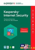 Kaspersky Internet Security Multi-Device Russian Edition. 5-Device 1 year Renewal Download Pack
